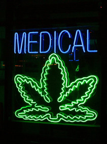 Medical Marijuana sign