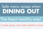 Menu swaps when dining out
