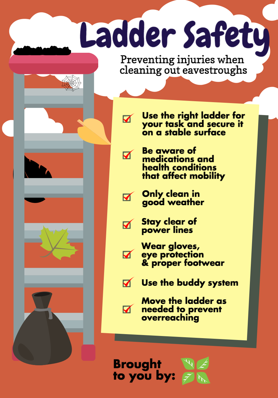 Ladder safety tips for preventing injury for Ladder safety tips