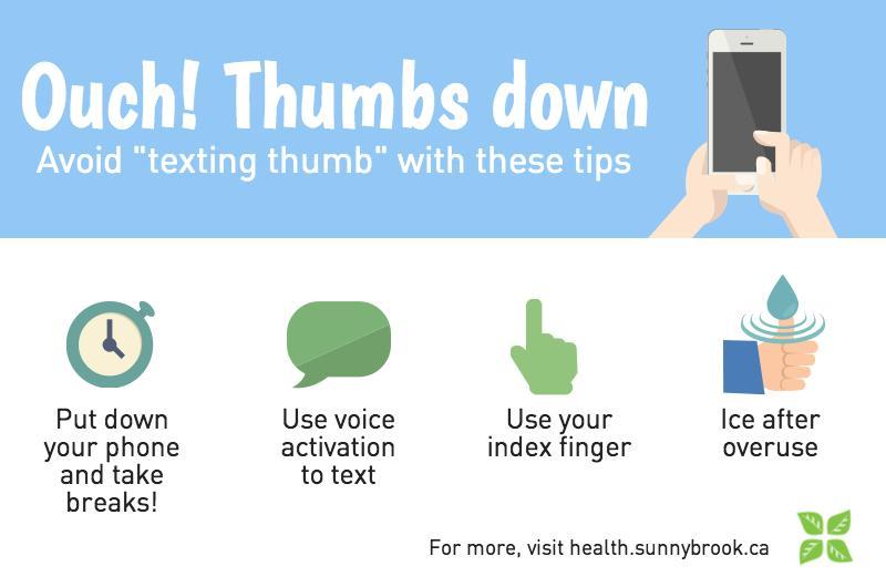 texting thumb tips