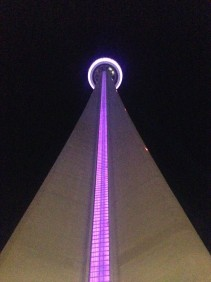 CN Tower goes purple for preemies