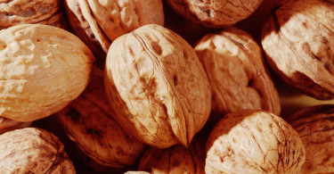 walnuts closeup