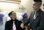 A beautiful hospital wedding