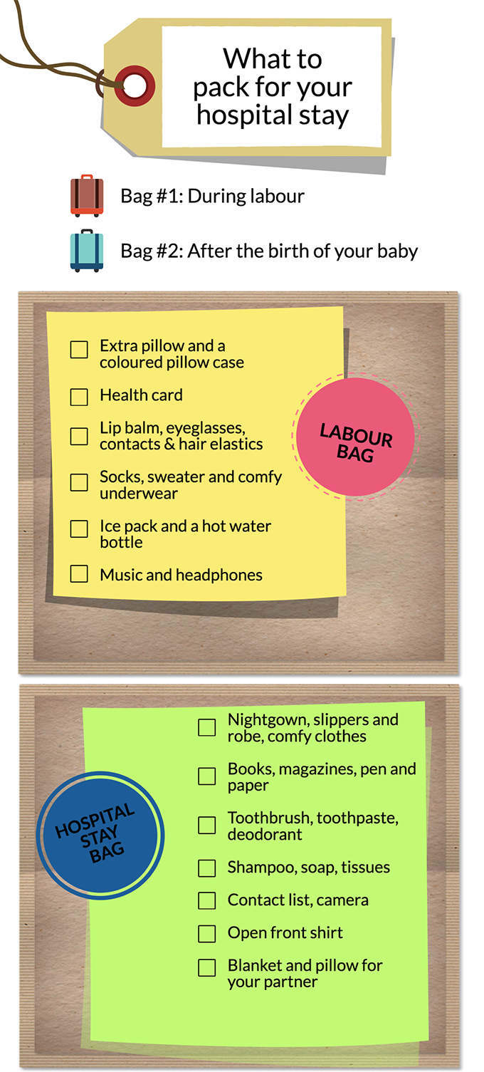 0eaa133b7dc8a Checklist: Packing your hospital bag for labour & birth. «