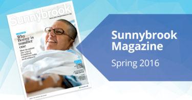 Sunnybrook Magazine Spring 2016