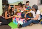 Family at Sunnybrook's Neo-Natal Follow-Up Clinic