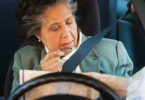 Elderly woman lost while driving