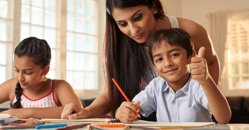 Do kids do homework