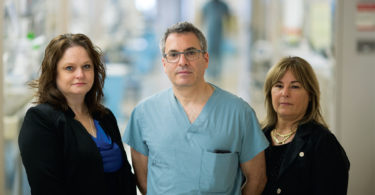 Members of Sunnybrook's trauma team