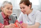 Dementia patient and caregiver