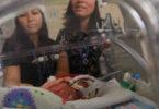 NICU nurses sing to preemie baby