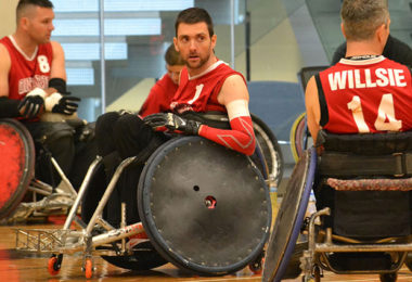 Courtesy of the Canadian Wheelchair Sports Association