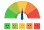 mood scale - happy face to sad face