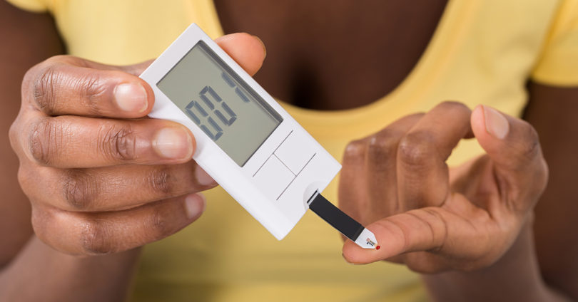 Diabetes glucose test