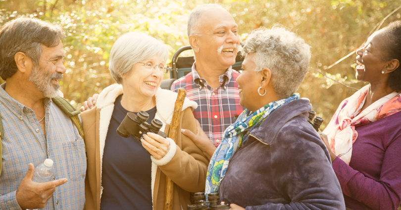 The secret to seniors aging successfully