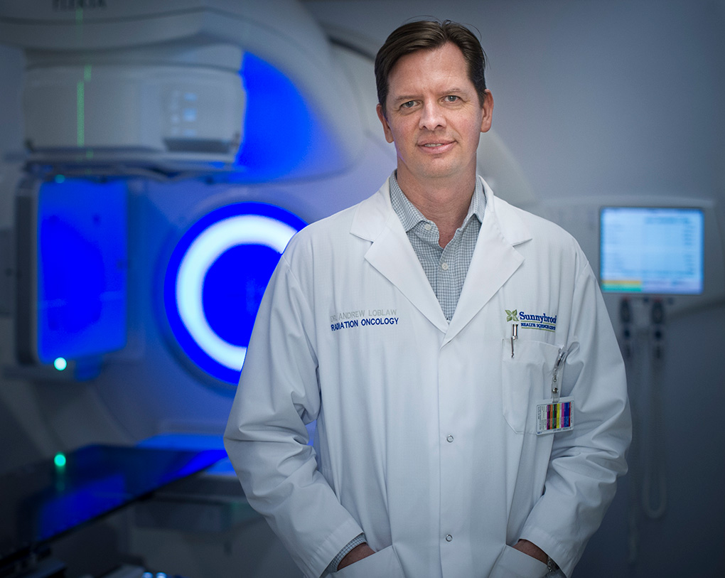Dr. Andrew Loblaw, radiation oncologist at Sunnybrook.
