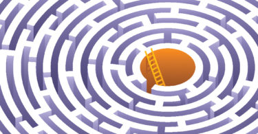 Illustration of a maze