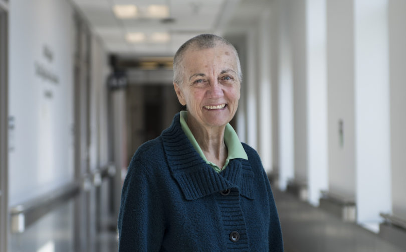 Sally McMillan, participant in world-first trial investigating focused ultrasound in treatment of patients with Alzheimer's disease.