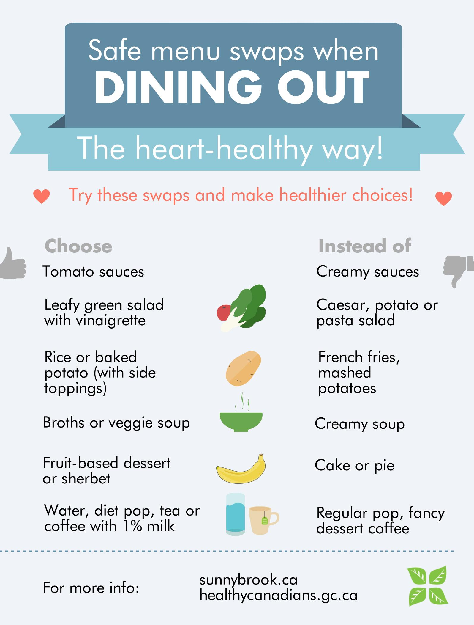 Dining Out Swaps