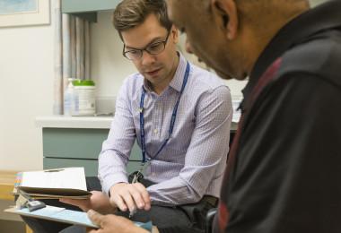 Justin Lorentz and patient