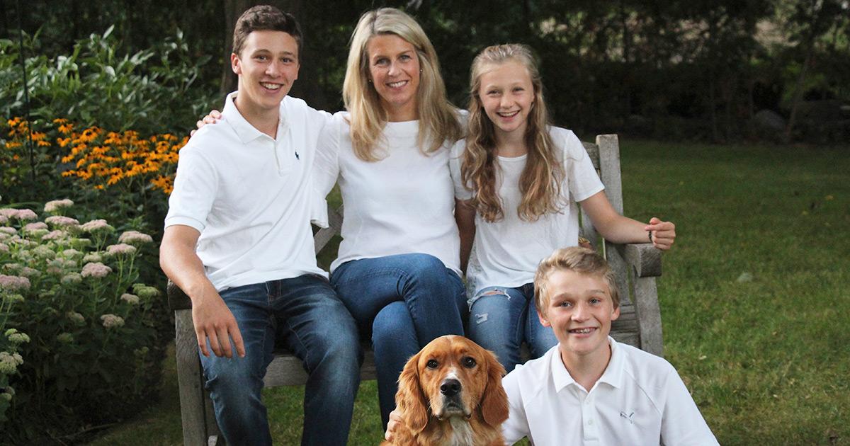 Christina Turner and family