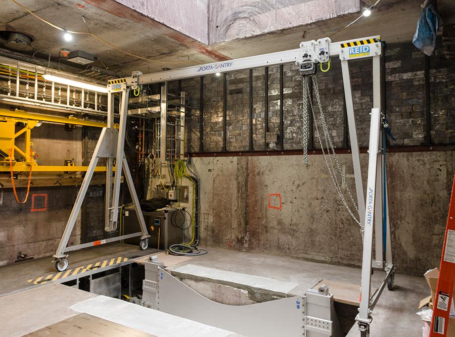Radiation bunker
