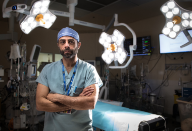 Dr. Shady Ashmalla, surgical oncologist
