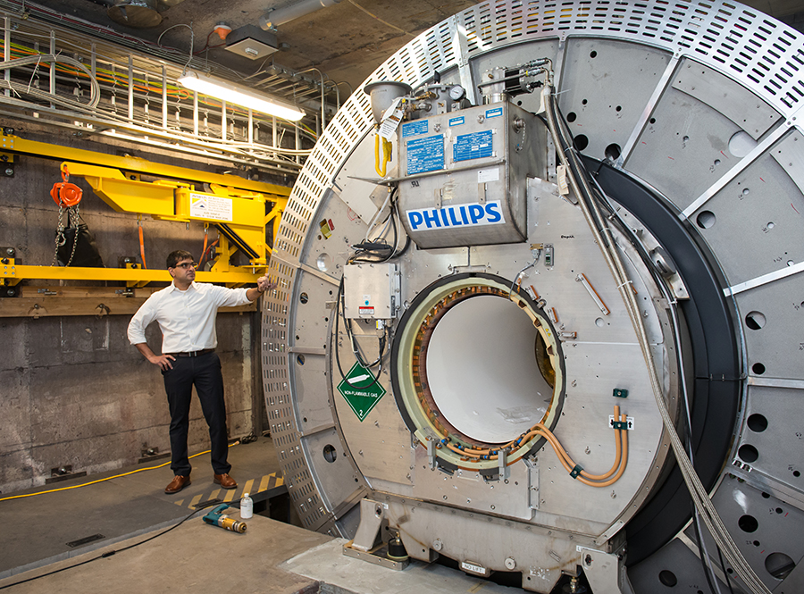 Set-up and calibration on the MR-Linac