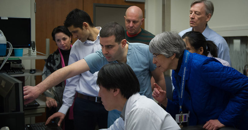 Focused ultrasound research team