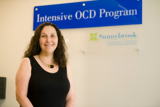 Dr. Peggy Richter heads up the Frederick W. Thompson Anxiety Disorders Centre, Canada's most specialized centre in OCD and related disorders.
