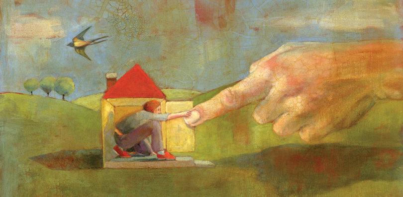 Housebound illustration