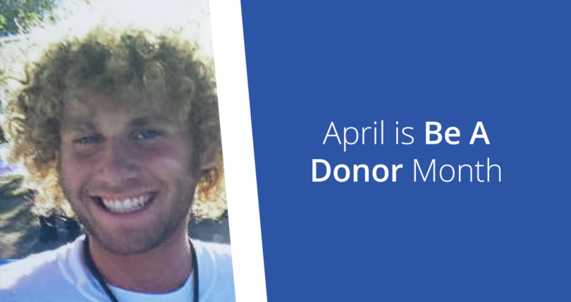 April is be a donor month