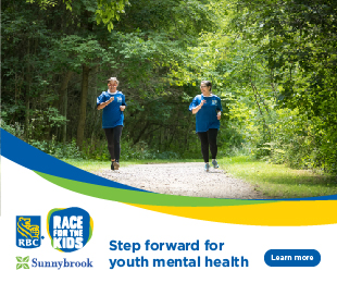 Step forward for youth mental health. Register for the RBC Race for the Kids.