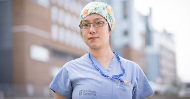 Clarice, COVID-19 unit nurse