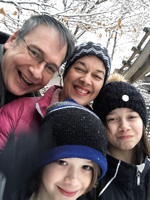 Mark and family
