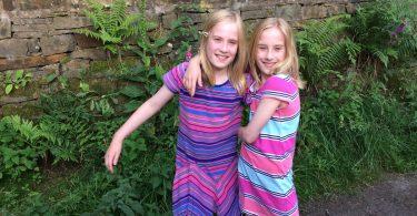 Samantha and Hailey.