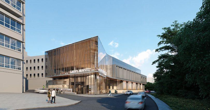 Gary Hurvitz Brain Sciences Centre rendering.