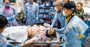 Trauma simulation