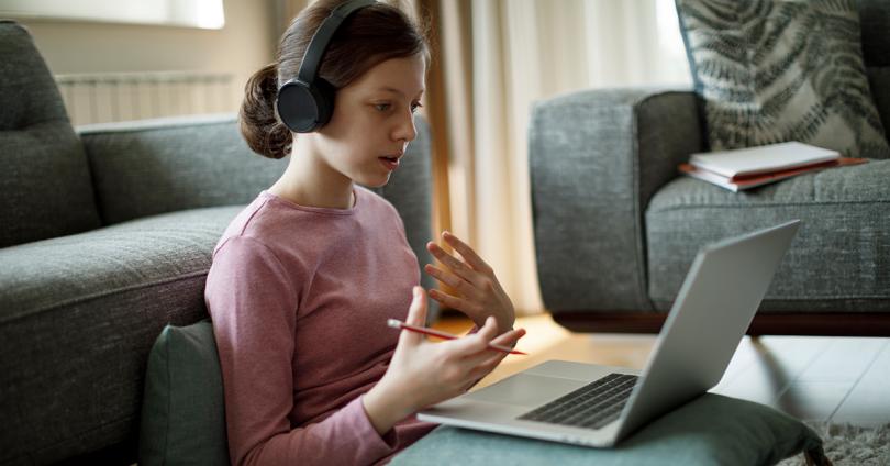 teen receives virtual care
