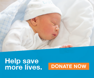 Your donation saves lives. Donate now. We're in this together.